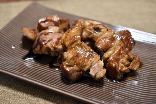 三河三元豚のステーキ バルサミコソース