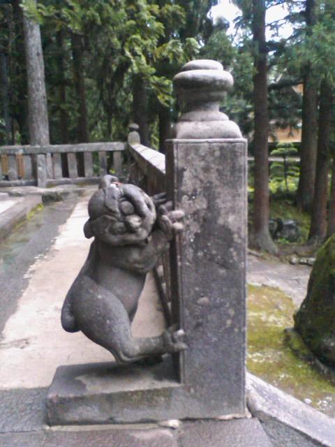 岩木山神社 狛犬(上)