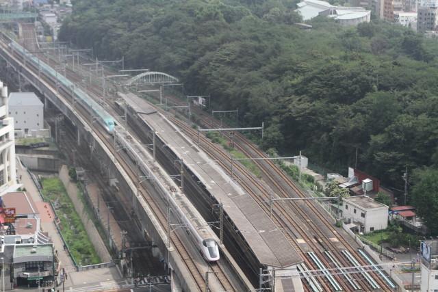 新幹線 同士の並び 他2