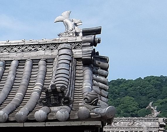 鞆の浦 寺 神 社 妙蓮寺 瓦