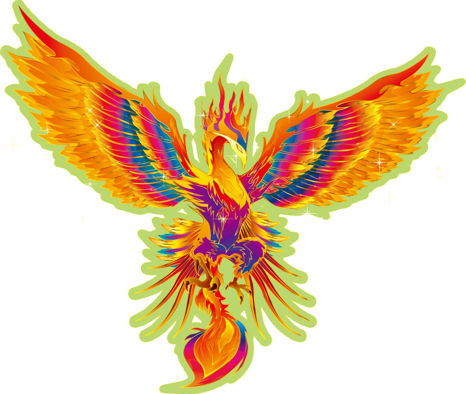 お店のロゴには、朱雀 鳳凰 不死鳥フェニックス? | 究極の美と健康