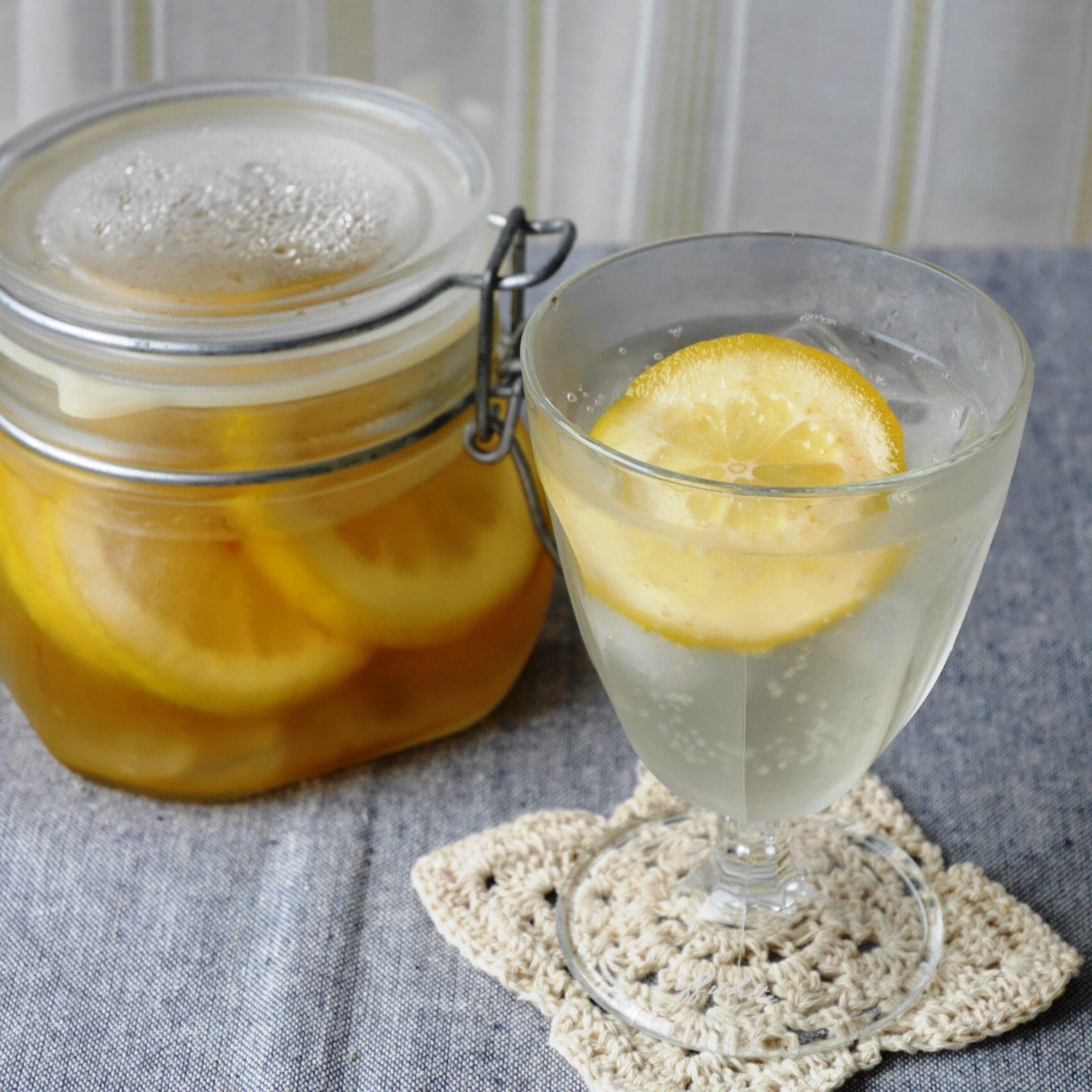 レモン酢_炭酸割り