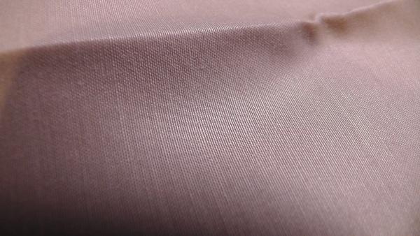 枕カバー(ピローケース)の生地 ベージュ 制菌加工繊維生地(ポリエステル70%綿30%)
