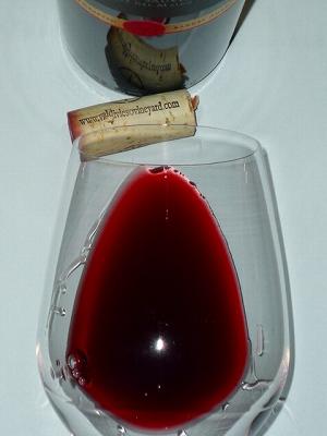 Vina Valdivieso Single Vineyard Maipo Reserva CS 2013 glass.jpg
