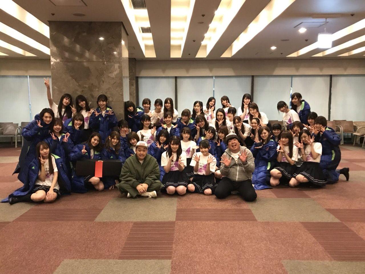 乃木坂46♪生田絵梨花、「東京ドーム集合写真withバナナマン」公開!