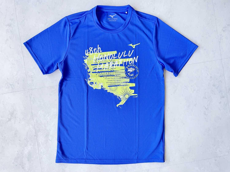ホノルルマラソン2021 プレエントリー Tシャツ プレゼント ハワイ