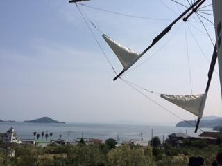 オリーブ公園風車からの景色