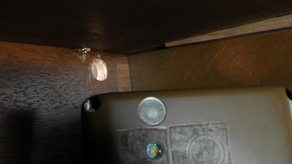 アガタ電子の階段灯「きらめきI」の受光部