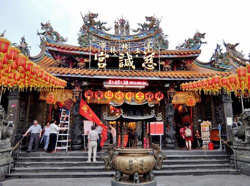 士林  劍潭 MRT 台湾 台北 夜市 市場 寺 廟