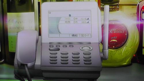 アニメ、レクリエイターズで使われていた電話