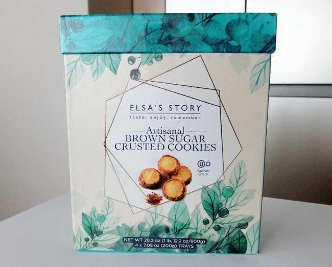 コストコ ブログ BrownSugar Cookie 円 ELSAS STORY エルザスストーリー ブラウンシュガークラストクッキー