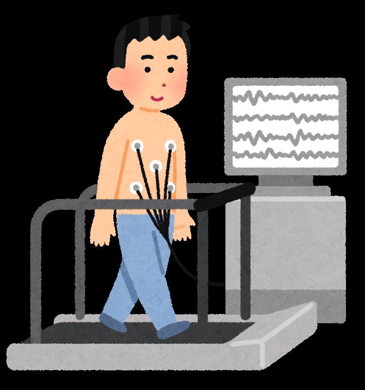 トレッドミル検査(運動負荷心電図検査)