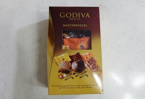 コストコで買ったゴディバのチョコレート バレンタイン 個別 1578円