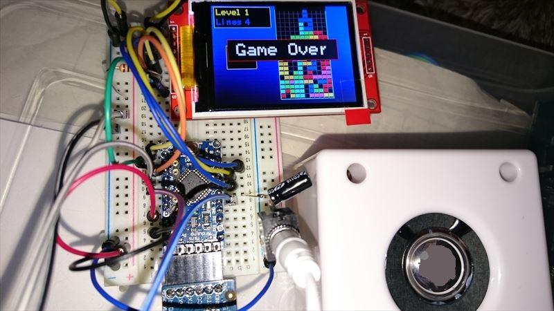 面白いサイトを見つけた!! ArduinoとTFT(ILI9341)でゲーム
