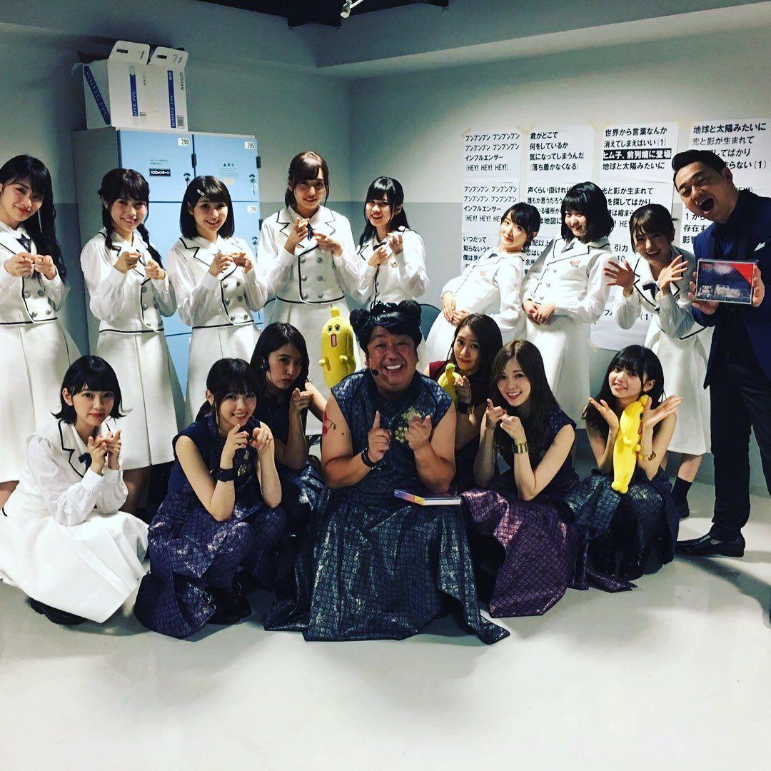 乃木坂46×バナナマン♪『テレ東音楽祭』集合写真公開!