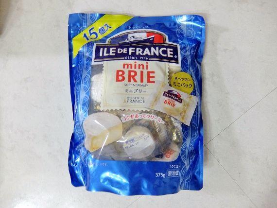 コストコ レポ ブログ Mini Brie 15P 1,378円 ILE DE FRANCE ミニブリーチーズ