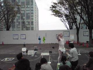 ヨコハマ大道芸2012・雪竹太郎
