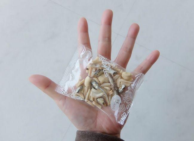 コストコ ヤマノ フィッシュ&アーモンド 998円也 商品 おつまみ ナッツ