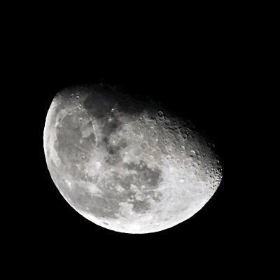 二十夜の月