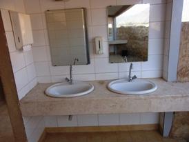 共有の洗面所