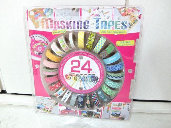 コストコ マスキングテープ 24 円 レポ ブログ