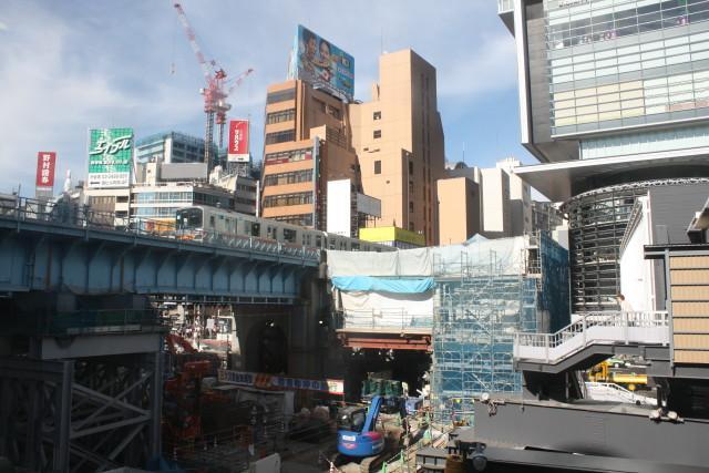 変貌する 渋谷駅と 銀座線2