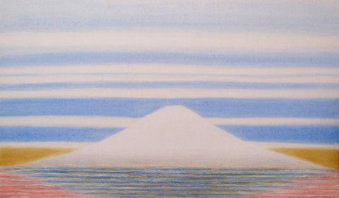 CURRENT W-1523 富士山から宇宙へ 46x70cm 20変形 koime.jpg