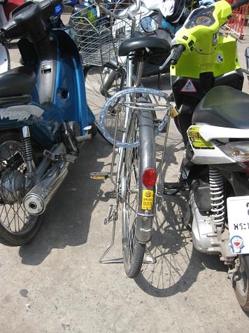 自転車アユタヤ1