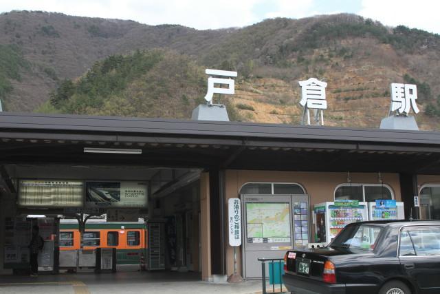 浅間山と 国鉄湘南急行色 6連3