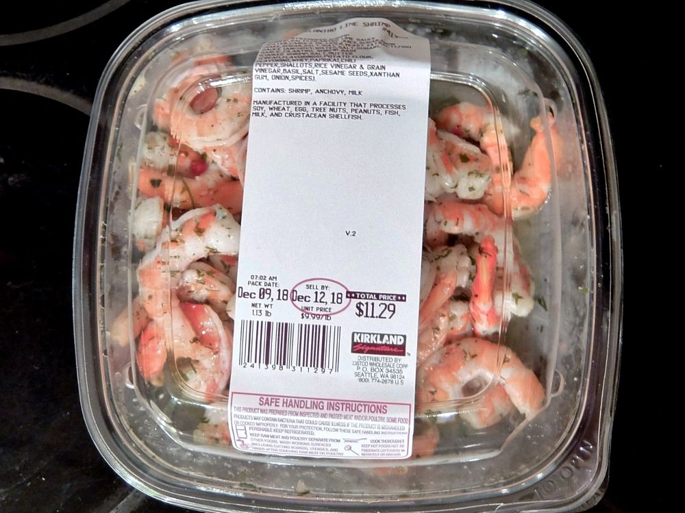 Cilantro Lime Shrimp コストコ レポ ブログ  Iwilei ハワイ 戦利品 商品 お土産