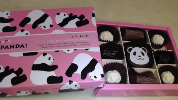 パンダのチョコ
