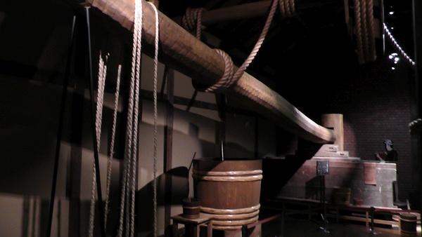 昔の設備 MIM(MIZKAN MUSEUM:ミツカンミュージアム)自由見学