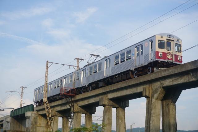 弘南鉄道 青いリンゴ 赤いリンゴ5