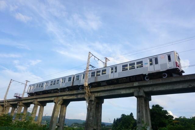 弘南鉄道 青いリンゴ 赤いリンゴ6