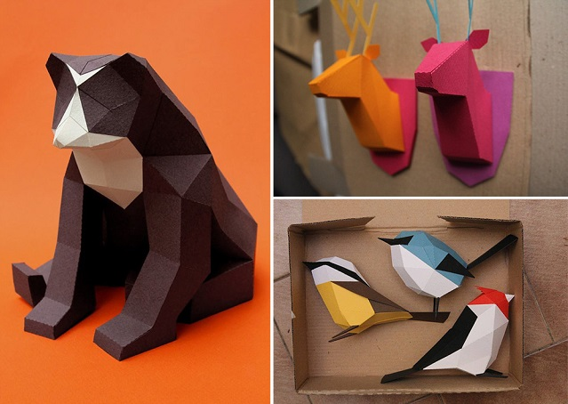 3D折り紙