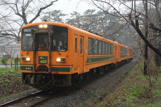 津軽鉄道 雨の ストーブ列車3