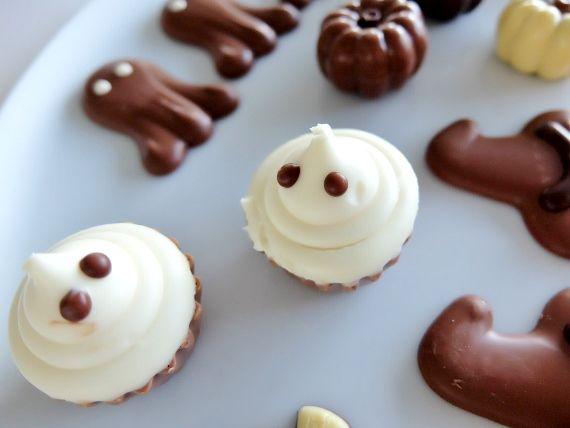 コストコ Costco ハロウィーン チョコレートボックス ベルギー Halloween Chocolates Box ハロウィン スイーツ 新商品 アーモンドプラリネ(Almond Praline)