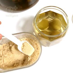 160613 梅酵母起こしにトライ 糖分を加える