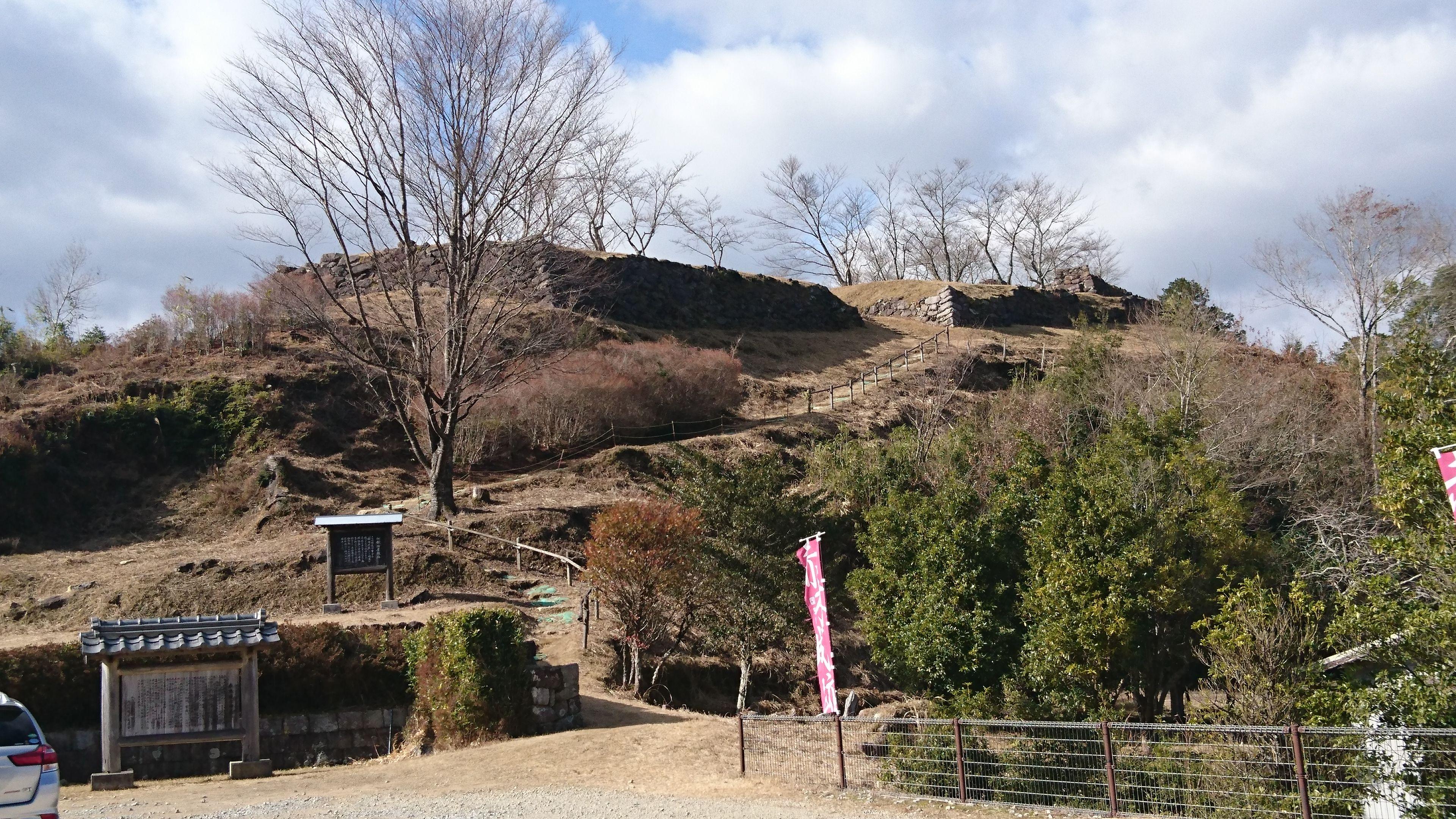 続・日本100城 赤木城(三重県熊...