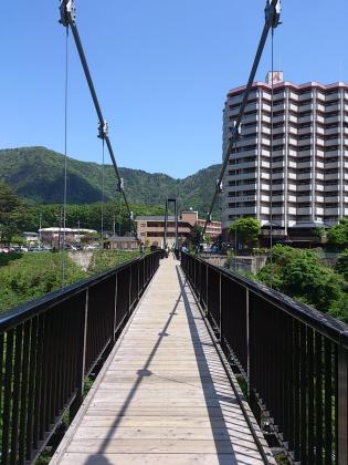 鬼怒川温泉大吊橋