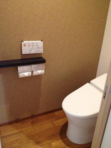 三井ガーデンホテル大阪プレミアトイレ