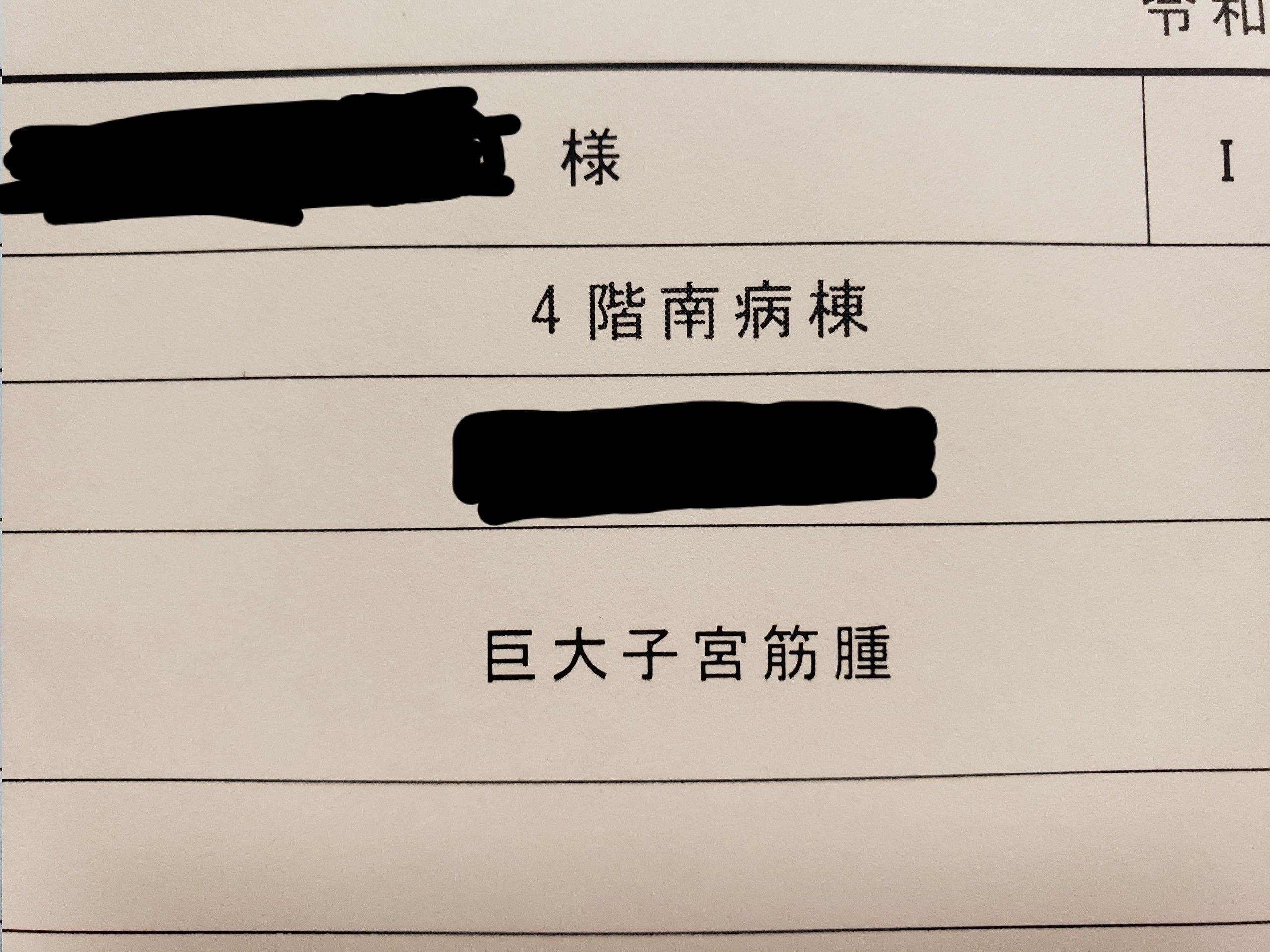 鏡 腹腔 子宮 ブログ 筋腫 手術