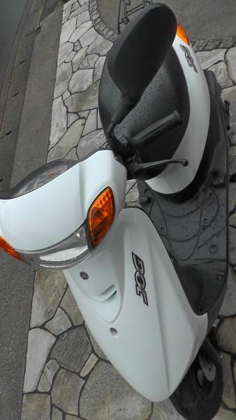 YAMAHA JOG ヤマハ ジョグ CE50D SA39J 2011年 ヘッドライト バルブ交換