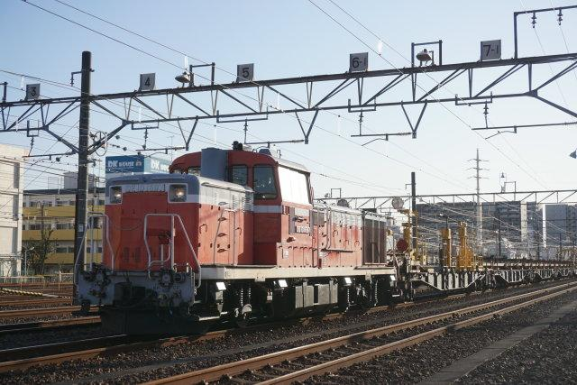 EF81 133牽引 水戸ホキ工臨 空送り込み6