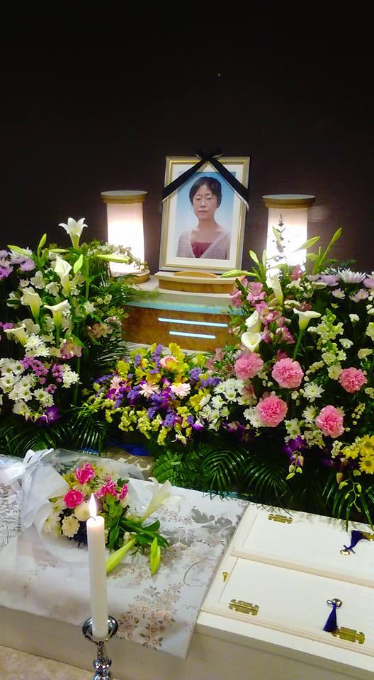 小林奈保葬儀ー1