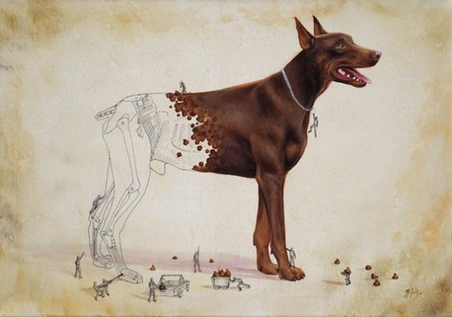 チョコ 犬