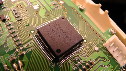 表示ユニットSDP0201CのマイコンH8/3847R