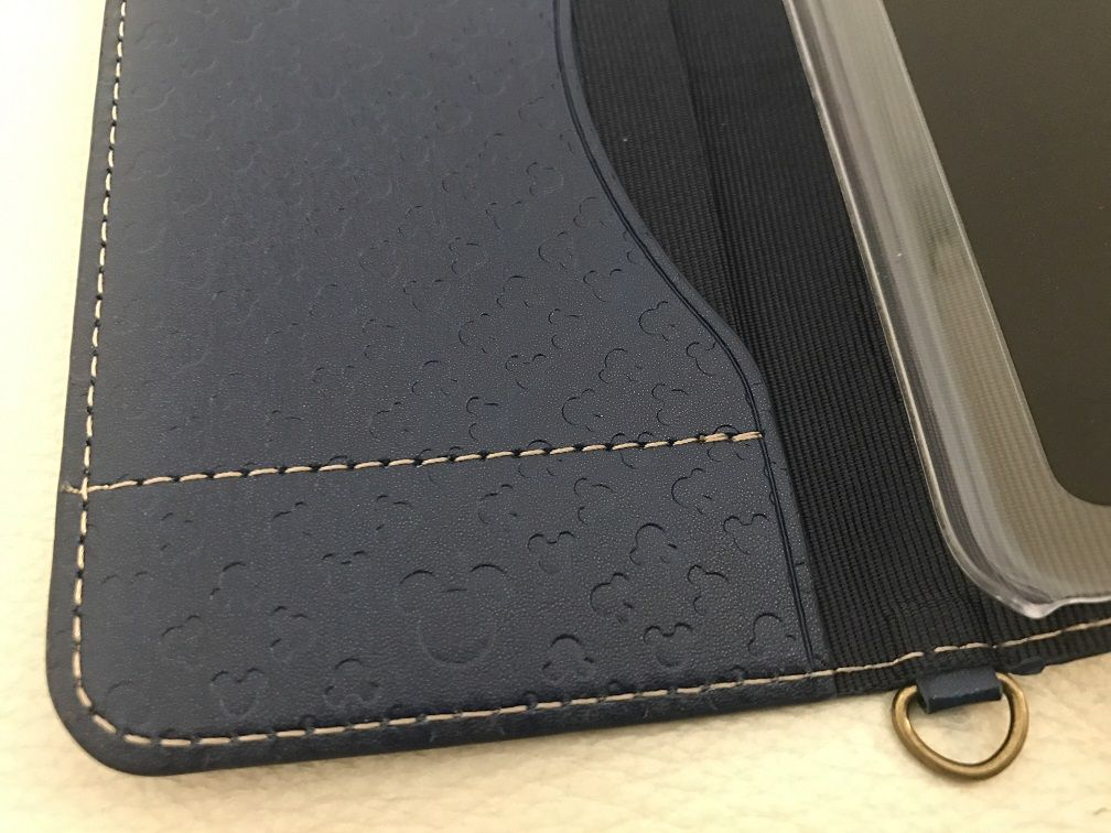エレコム iPhone7用 ソフトレザーケース ディズニー PM-A16MPLFDNYB3