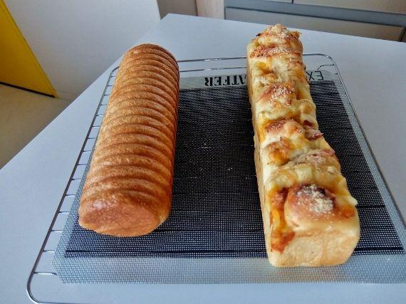 パン 丸 ラウンド ベーコンチーズ マヨネーズ 食パン