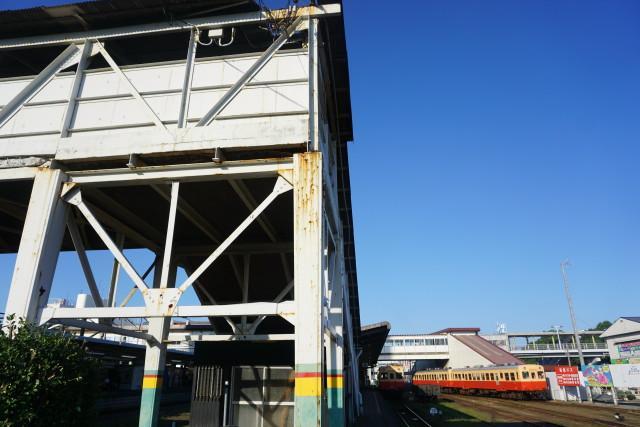 小湊鉄道 在りし日の五井跨線橋